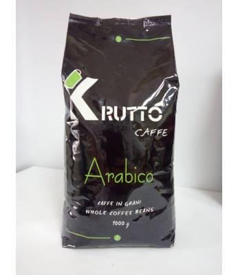 Кофе Krutto Caffe Arabico в зернах 1 кг 100% Арабика