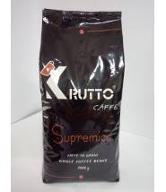 Кофе Krutto Caffe Supremico в зернах 1 кг 80% Арабика