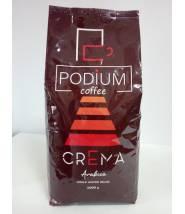 Кофе Podium Caffe Crema в зернах 1 кг