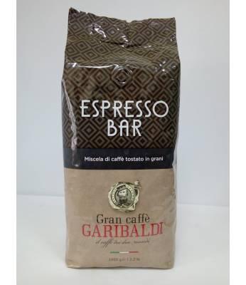Кофе Garibaldi Espresso Bar в зернах 1 кг ( Италия)