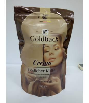 Кофе Goldbach Crema растворимый 130 г (Германия)