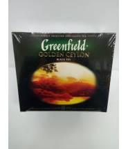 Чай Greenfield Golden Ceylon 50 пак