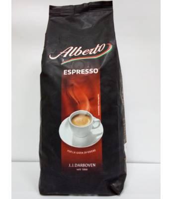 Кофе J.J.Darboven Alberto Espresso в зернах 1 кг