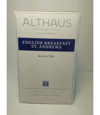 Чай Althaus English Breakfast St.Andrews 20 шт
