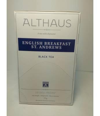 Чай Althaus English Breakfast St.Andrews 20 шт