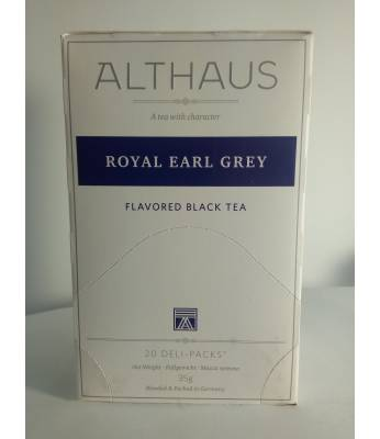 Чай Althaus Royal Earl Grey 20 шт
