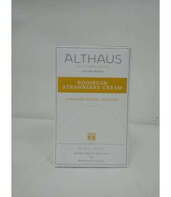 Чай Althaus Rooibush Strawberry Cream 20 шт