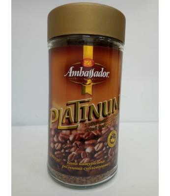 Кофе Ambassador Platinum растворимый 190 г