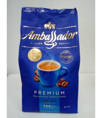 Кофе Ambassador Premium в зернах 1 кг