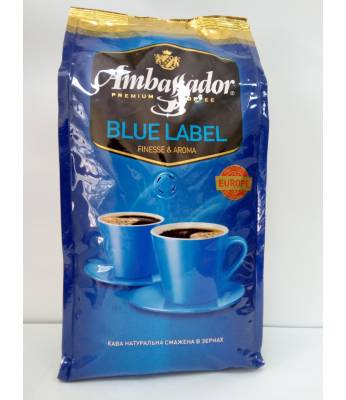 Кофе Ambassador Blue Label в зернах 1 кг