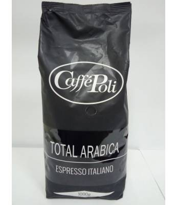 Кофе Caffe Poli Total Arabica 100% в зернах 1 кг