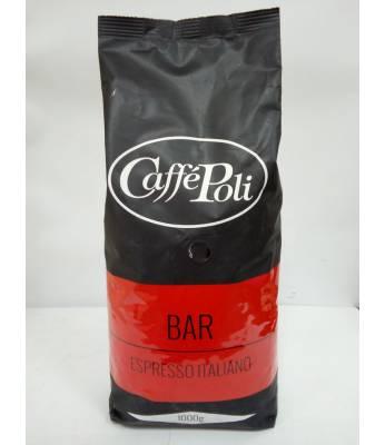 Кофе Caffe Poli Rossa Bar в зернах 1 кг (Италия)