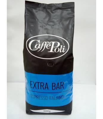 Кофе Caffe Poli Extra Bar в зернах 1 кг (Италия)