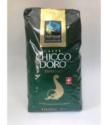 Кофе Chicco d'Oro Espresso Max Havelaar в зернах 1 кг