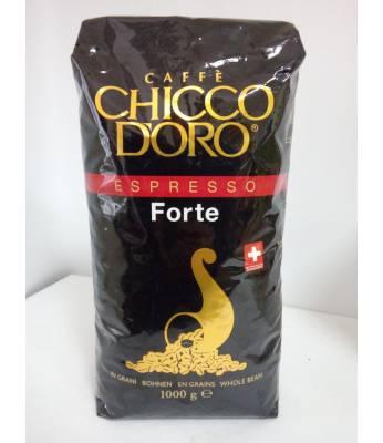 Кофе Chicco d'Oro Espresso Forte в зернах 1 кг Оригинал (Швейцария)