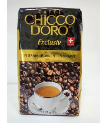 Кофе Chicco d'Oro Exclusiv в зернах 500 г Оригинал (Швейцария)