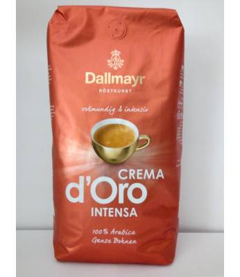 Кофе Dallmayr Crema d'Oro Intensa в зернах 1 кг Оригинал (Германия)