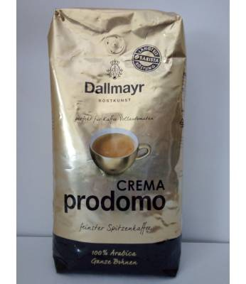 Кофе Dallmayr Crema prodomo в зернах 1 кг Оригинал (Германия)
