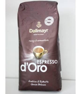 Кофе Dallmayr Espresso d'Oro в зернах 1 кг Оригинал (Германия)