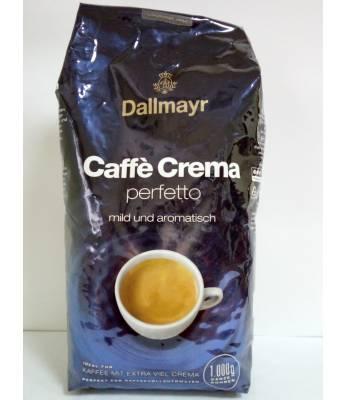 Кофе Dallmayr Caffe Crema perfetto в зернах 1 кг Оригинал (Германия)