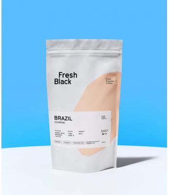 Кофе в зернах Fresh Black BRAZIL DIAMOND 1 кг