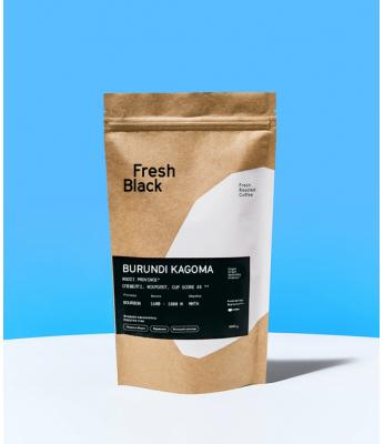 Кофе в зернах Fresh Black BURUNDI KAGOMA 1 кг