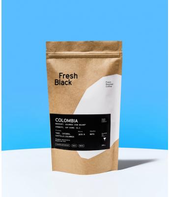 Кофе в зернах Fresh Black COLOMBIA IVAN MOLANO 1 кг