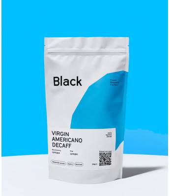 Кофе в зернах Fresh Black VIRGIN AMERICANO (decaff) 1 кг