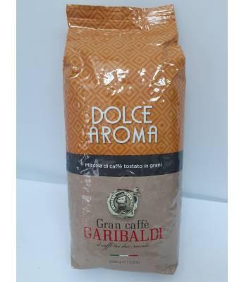 Кофе Garibaldi Dolce Aroma в зернах 1 кг ( Италия)