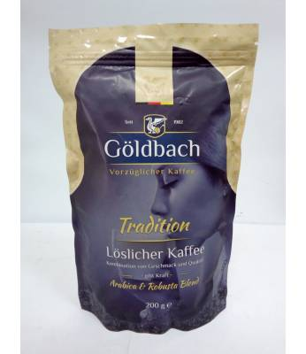 Кофе Goldbach Tradition 100% Arabica растворимый 200 г (Германия)