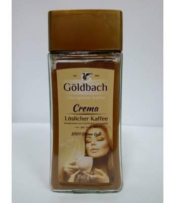 Кофе Goldbach Crema растворимый  1150 г в стеклянной банке (Германия)