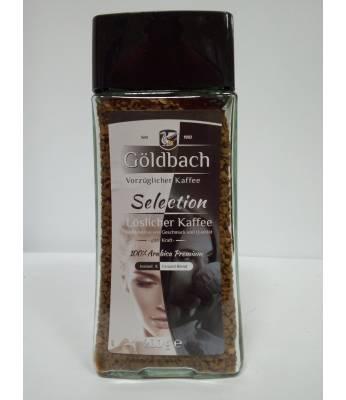 Кофе Goldbach Selection растворимый в стеклянной банке  200 г (Германия)