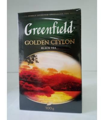 Чай Greenfield Golden Ceylon 100 г