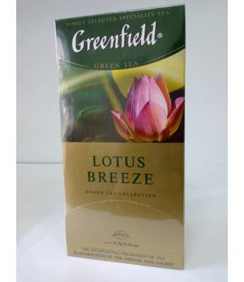 Чай Greenfield Lotus Breeze 25 пак.