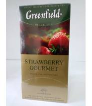 Чай Greenfield Strawberry Gourmet 25 пак