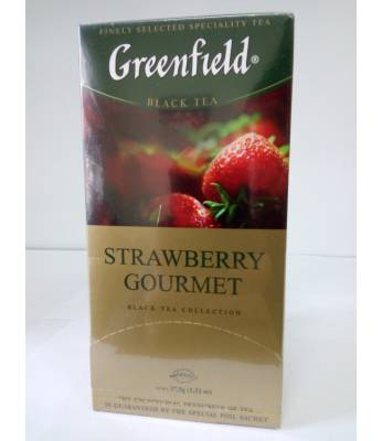 Чай Greenfield Strawberry Gourmet 25 пак.