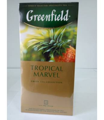Чай Greenfield Tropical Marvel 25 пак.