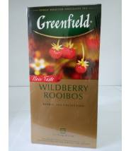 Чай Greenfield Wildberry Rooibos 25 пак