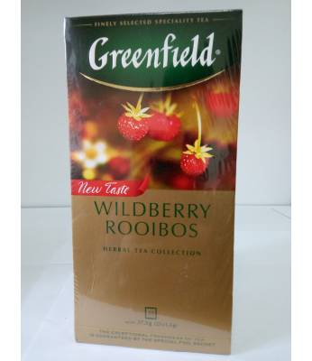 Чай Greenfield Wildberry Rooibos 25 пак.