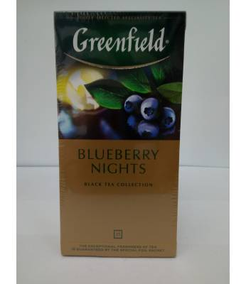 Чай Greenfield Blueberry Nights 25 пак
