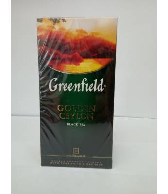 Чай Greenfield Golden Ceylon 25 пак.