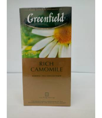 Чай Greenfield Rich Camomile 25 пак