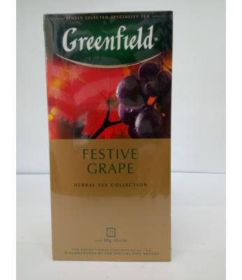 Чай Greenfield Festive Grape 25 пак.