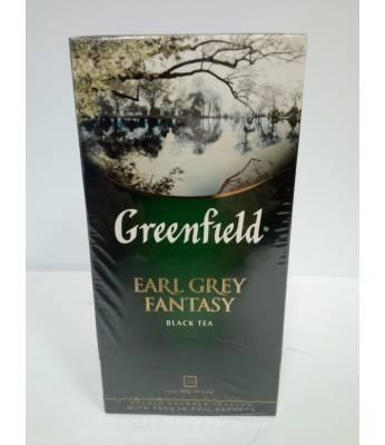 Чай Greenfield Earl Grey Fantasy 25 пак