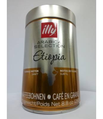 Кофе Illy Ethiopia Monoarabica в зернах 250 г Оригинал (Италия)