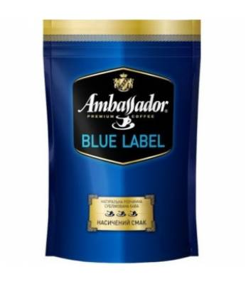 Кофе Ambassador Blue Label растворимый 75 г