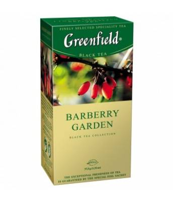 Чай Greenfield Barberry Garden 25 пак.