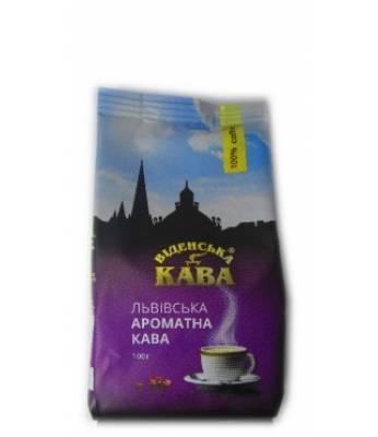 Кофе Віденська Кава Львівська ароматна молотый 100 г