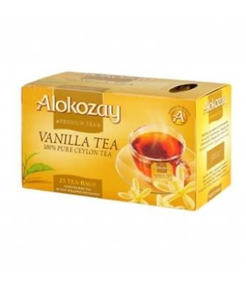 Чай Alokozay Ваниль 25 шт