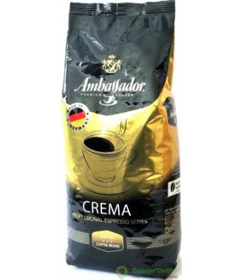 Кофе Ambassador Crema Германия в зернах 1 кг